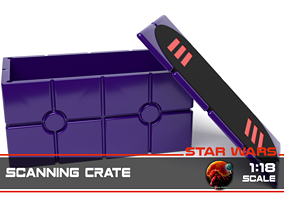 Star Wars Death Star Scanning Crate 3D printable model 4