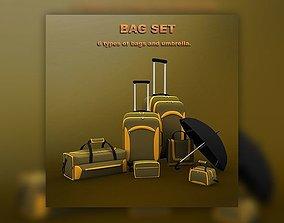 3D asset Bag set