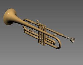 3D trompeta trumpet