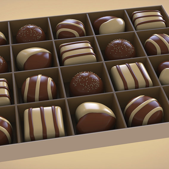 Life is like a box of chocolates as they say