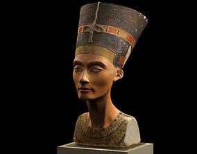 restored 3D print model Nefertiti Bust