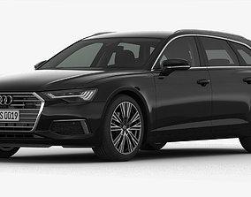Audi A6 Avant 2019 Detailed Interior 3D model