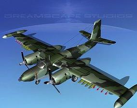 Douglas A-26K Invader COIN 3D model