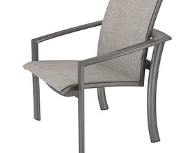 3D Tropitone KOR Relaxed Sling Dining Chair