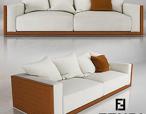 Fendi Freedom Sofa 3D model