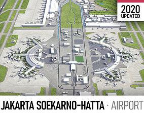 3D asset Jakarta Soekarno - Hatta Airport