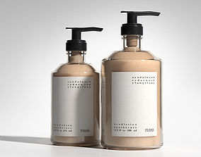Apothecary Hand Lotion various 3D