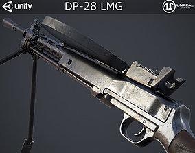DP-28 Light Machine Gun 3D asset