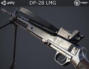 DP-28 Light Machine Gun 3D model