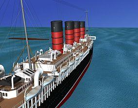 3D RMS Lusitania
