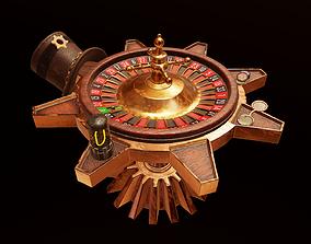 Steampunk Roulette 3D PBR