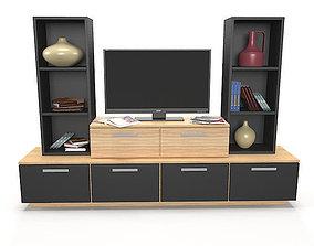 storage TV Stand 3D