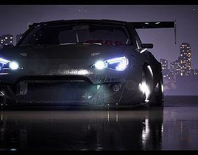 Custom Subaru BRZ 3D model