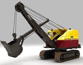 3D Ruston Bucyrus Excavator