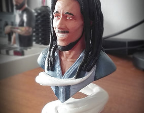 marley BOB MARLEY BUST MODEL 3D SABIOPRODS