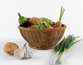 3D Vegetable set