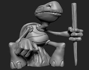 Tortoise Desktop Model Pen Holder
