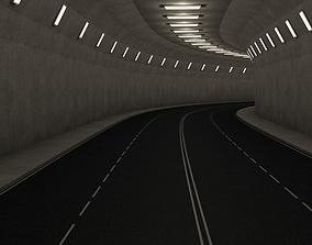 3D model Highway Tunnel