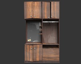 Soviet Cabinet 3D asset