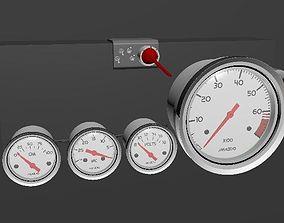 Car Instruments 3D model