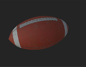 American Football ball 3D