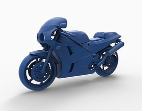 3D printable model Motorcycle mod24