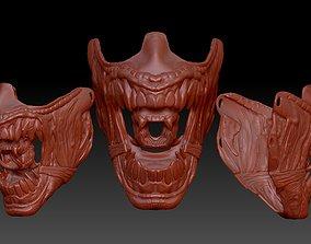 ALIEN inspired face mask 3D print model