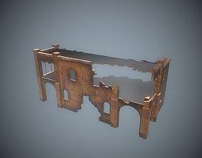 Damaged-Destroyed Building 5 3D model