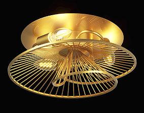 728133 Zeta Lightstar ceiling chandelier 3D