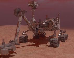 Curiosity Mars Rover curiosity 3D model