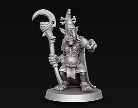 Goblin wizard 3D print model