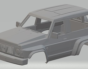 Nissan Patrol GR Printable Body Car