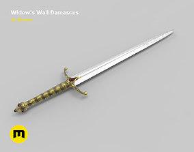 Widows Wail sword 3D printable model