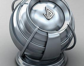 3D VRAY SHADER---METAL---Gallium