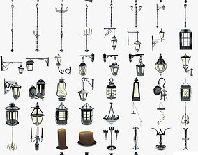 3D asset lights collection