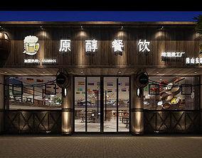 Business - Restaurant 06 3D