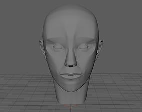 Human Anatomical Head 3D model