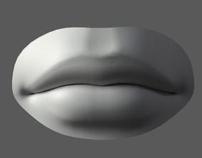 3D model Lip Male