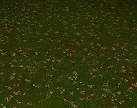 ground grass tile 06 3D model