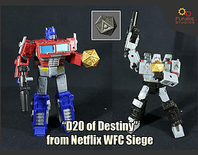 D20 of Destiny from Netflix 3D printable model 2