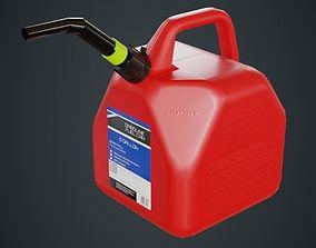 Fuel Can 5A 3D asset