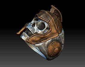 skull spartan ring 3d model