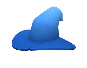 3D asset game-ready Wizard Hat