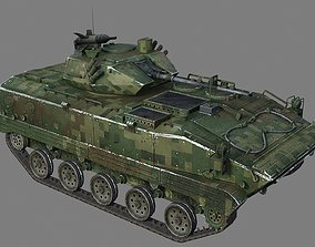 ZBD03 airborne armored infantry fighting vehicle 3D asset