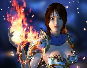 animated 3Dfoin - Royal Sorceress