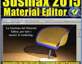 3ds max 2015 Material Editor Vol 17 Italiano cd