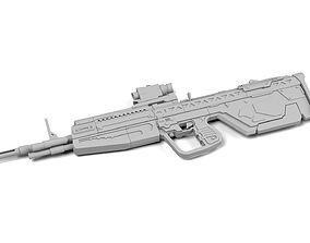 3D print model HALO reach DMR
