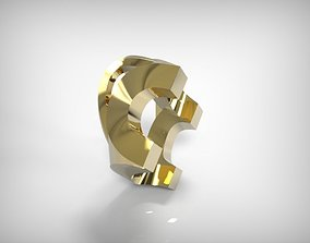 3D print model Golden Part Jewelry Making