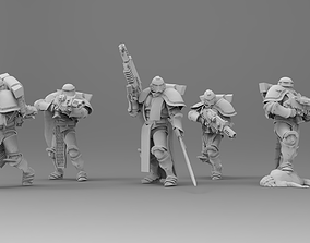 3D print model Knight of Roma - Veterans with Combi 1