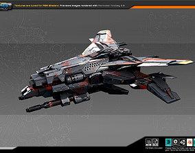 3D asset SF Fighter RK2